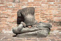 Headless Buddha statue at Wat Mahathat, Ayutthaya, Thailand Stock Photography