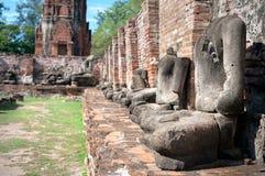 Headless Buddha statues at Wat Mahathat, Ayutthaya, Thailand Stock Image