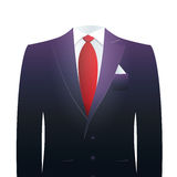 Headless businessman's suit Royalty Free Stock Photos