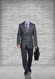 Headless businessman Stock Photo