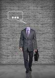 Headless businessman Stock Image