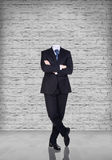 Headless businessman Stock Images