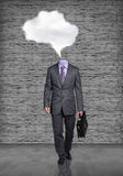 Headless businessman Stock Image