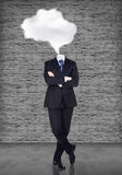 Headless businessman Royalty Free Stock Image