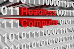 Headless computer Stock Images
