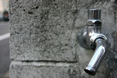 Headless faucet Royalty Free Stock Photo