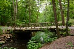 Headless Horseman Bridge at Sleepy Hollow. The Headless Horseman Bridge at Sleepy Hollow Cemetery Stock Images