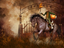 Headless horseman Royalty Free Stock Image