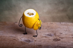 Headless lemon Stock Image