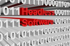 Headless software Stock Photography