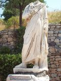 Headless statue in Ephesus Turkey Royalty Free Stock Images
