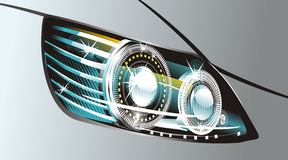 Headlight Stock Image