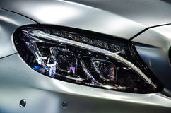 Headlight of automobile. Stock Photography