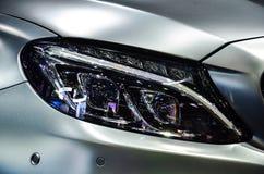 Headlight of automobile. Stock Photography