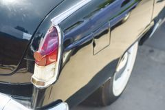 Headlight from back. Of old retru antique vehicle close up Stock Photos