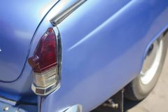 Headlight from back. Of old russian car close up Stock Image