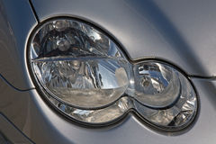 Headlight of the car Stock Image