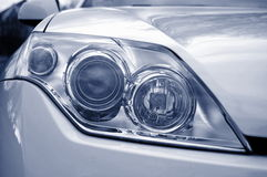 Headlight of a car Royalty Free Stock Photos
