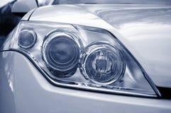 Headlight of a car royalty free stock photos