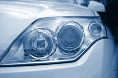 Headlight of a car Stock Image
