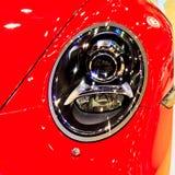 Headlight of car Stock Image