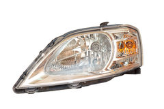 Headlight of a car Royalty Free Stock Photo