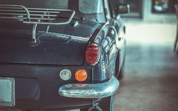 Headlight Car With Rear View stock image