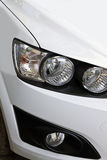 headlight of a car Stock Photo