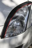 Headlight from car white color Royalty Free Stock Photos