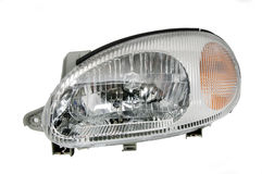 Headlight for cars Stock Photography