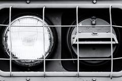Headlight close up Royalty Free Stock Photo