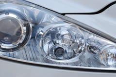 Headlight. Close-up of a car headlight Royalty Free Stock Photo