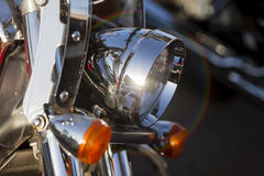 Headlight Close up Royalty Free Stock Photo