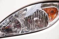 Headlight Coach bus Stock Photo