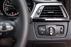 Headlight controls Stock Image