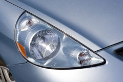 Headlight Detail Stock Photo