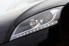 Headlight detail Royalty Free Stock Photo