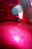 Headlight and Fender on American Hot Rod Stock Photos
