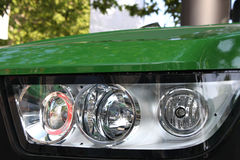 Headlight on the front Stock Images