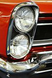 Headlight and front grill stock images