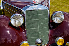 Headlight in front of vintage car Stock Photography