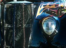Headlight and Grille Stock Images