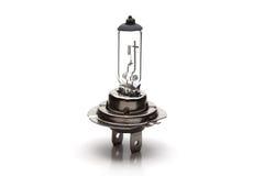 Headlight lamp. Car headlight lamp on white background Stock Photo