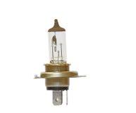 Headlight bulb of a car. Isolated headlight LED bulb of a car of motor vehicle Stock Images