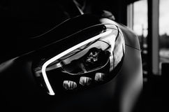 Headlight of Mercedes Benz AMG GT 50 Stock Image