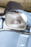 Headlight of a motorbike Royalty Free Stock Photography