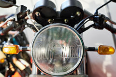 Headlight motorcycle Royalty Free Stock Photography