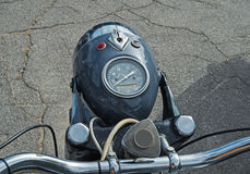 Headlight motorcycle Royalty Free Stock Photography