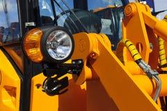 Free Headlight Of Bulldozer Stock Photo - 70389140