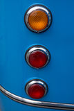 Headlight of old bus Royalty Free Stock Photo